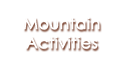 Mountain Activities