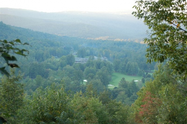 View from Stone Creek Estates.Ride your golf cart to FFSV amenities.