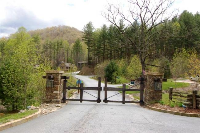 Bear LaGated entrance
