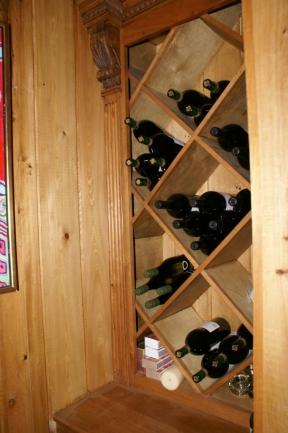Wine Cellar Nook